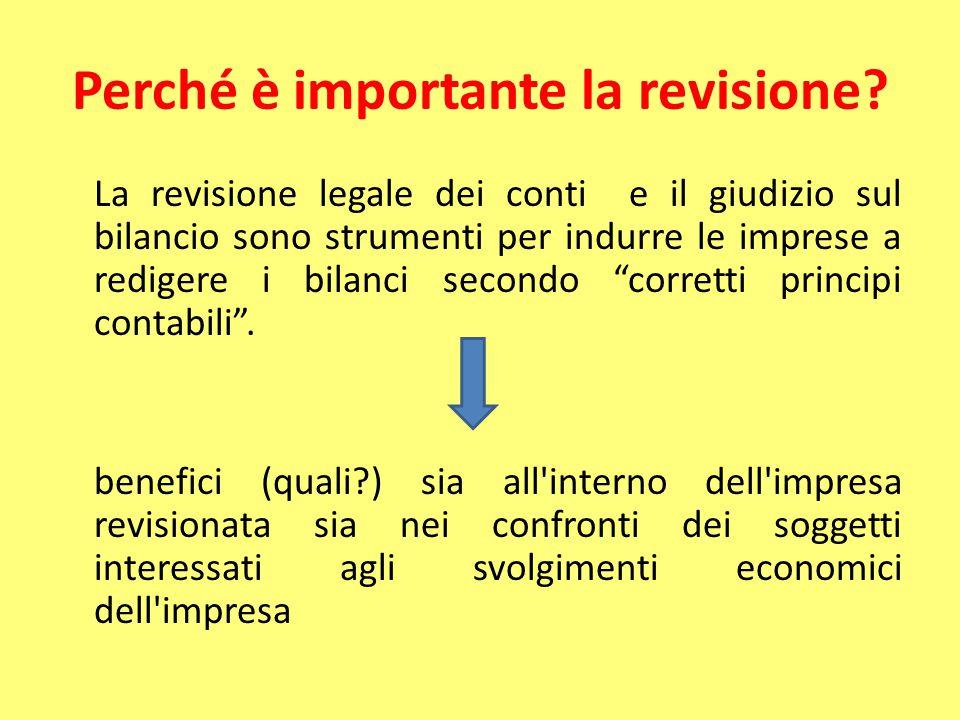 Perché è importante la revisione