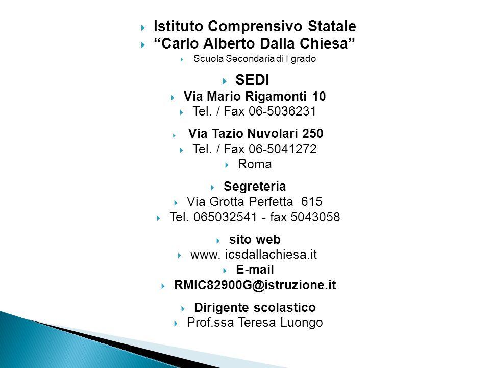 Istituto Comprensivo Statale Carlo Alberto Dalla Chiesa
