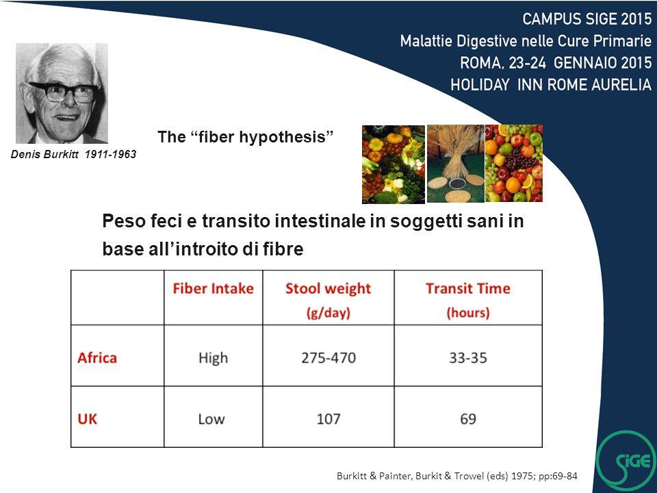 The fiber hypothesis