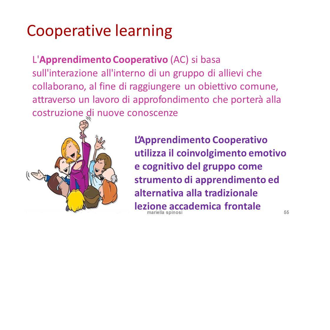 Cooperative learning costruzione di nuove conoscenze