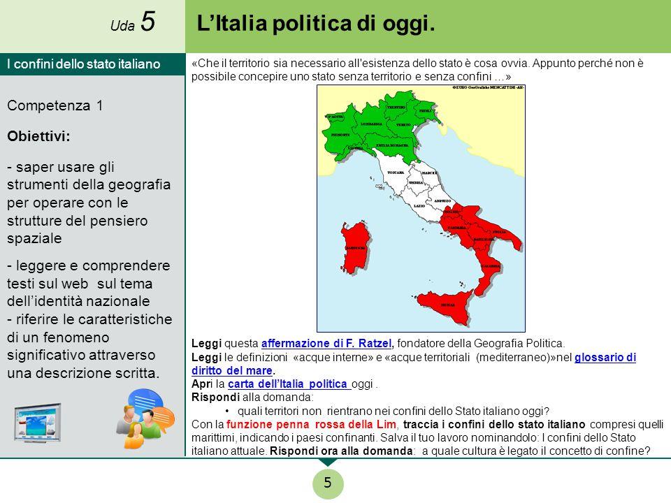 L'Italia politica di oggi.