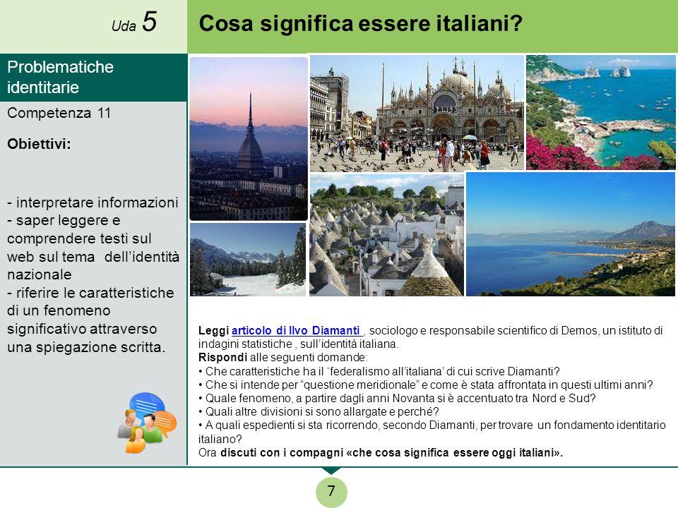 Cosa significa essere italiani