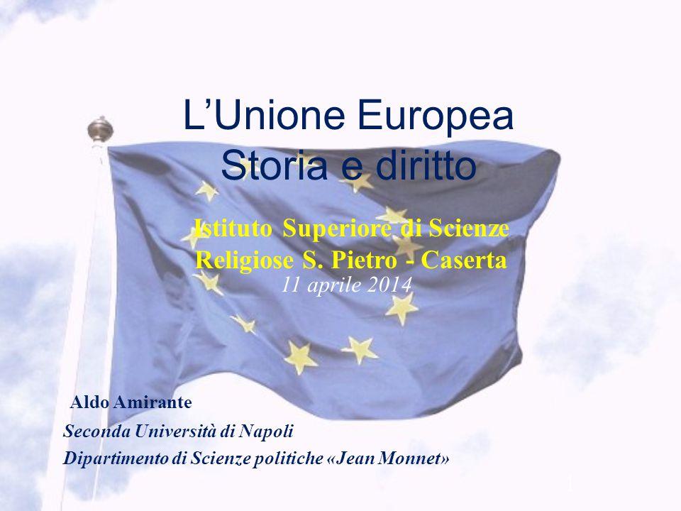 L'Unione Europea Storia e diritto