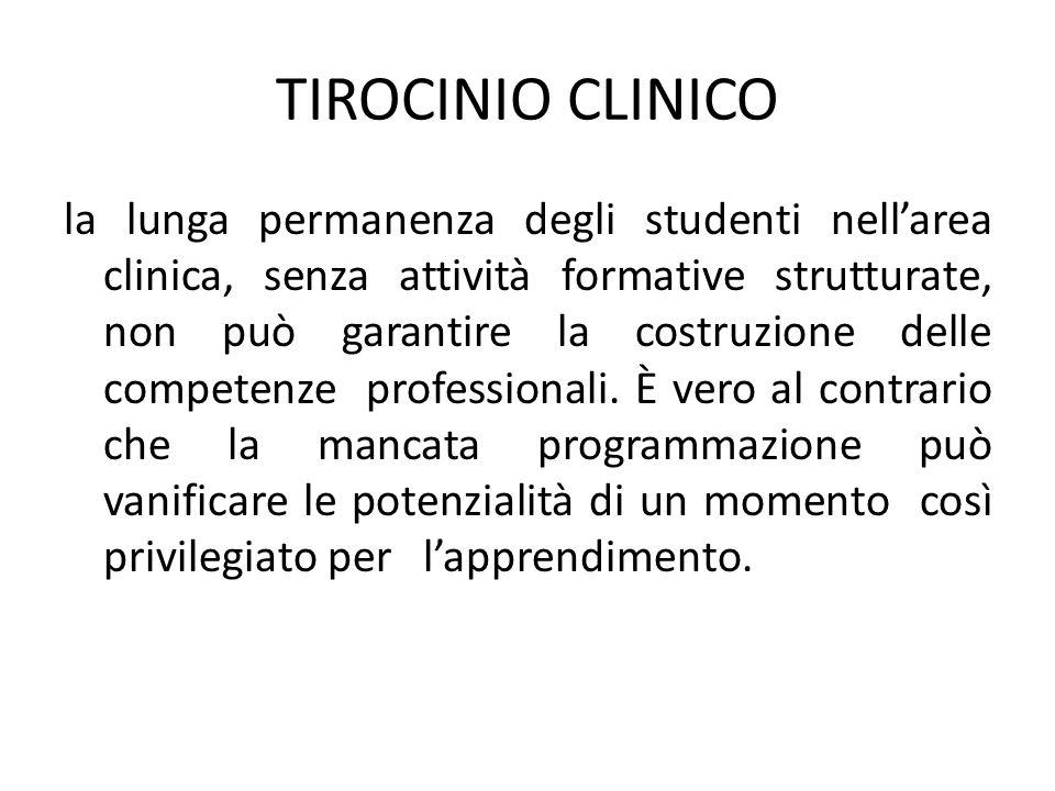 TIROCINIO CLINICO