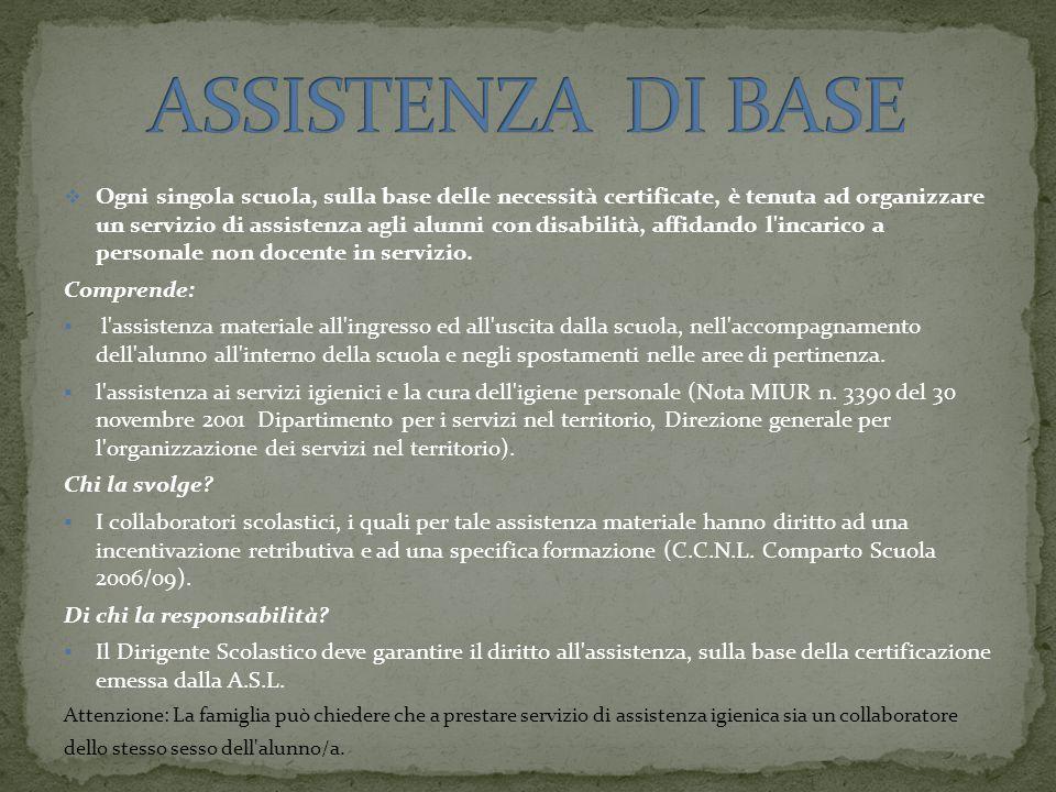 ASSISTENZA DI BASE