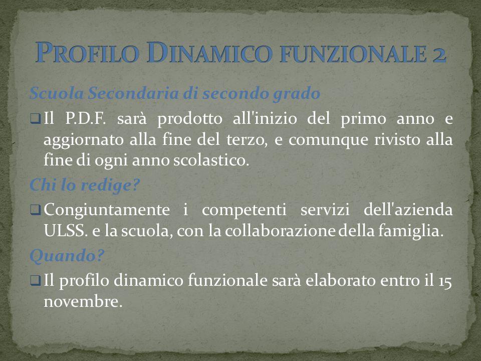 Profilo Dinamico funzionale 2