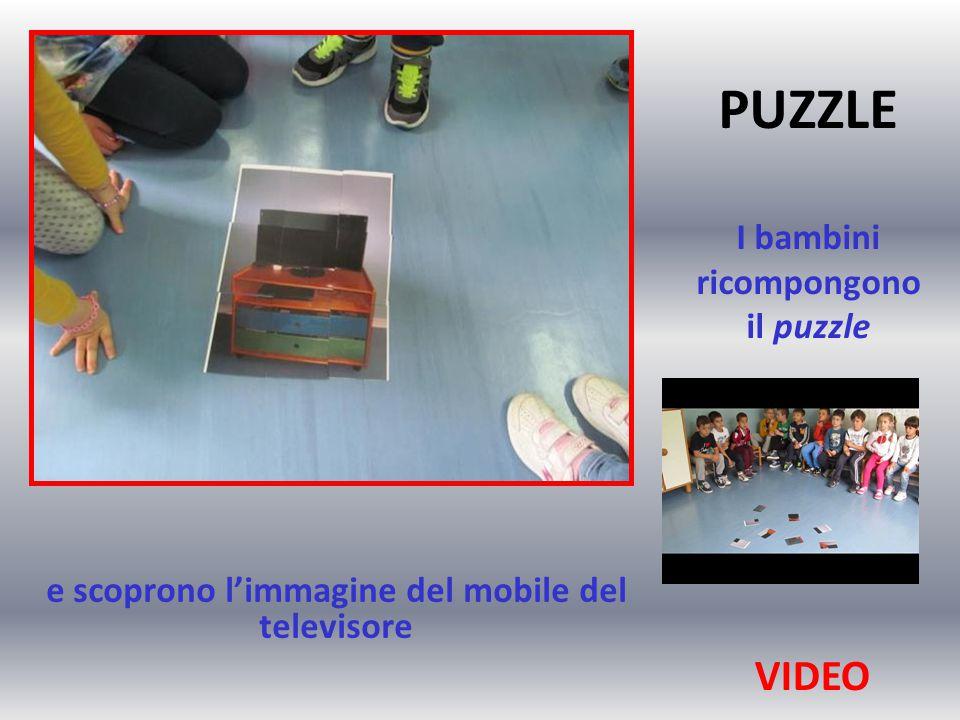 PUZZLE I bambini ricompongono il puzzle