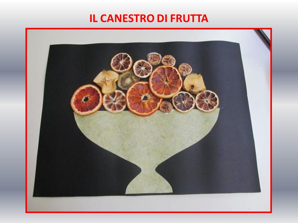 IL CANESTRO DI FRUTTA
