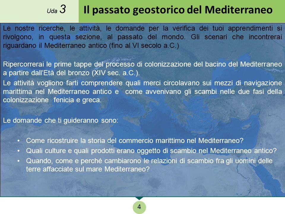 Il passato geostorico del Mediterraneo