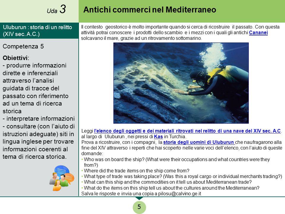 Antichi commerci nel Mediterraneo