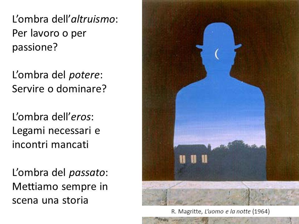 R. Magritte, L'uomo e la notte (1964)