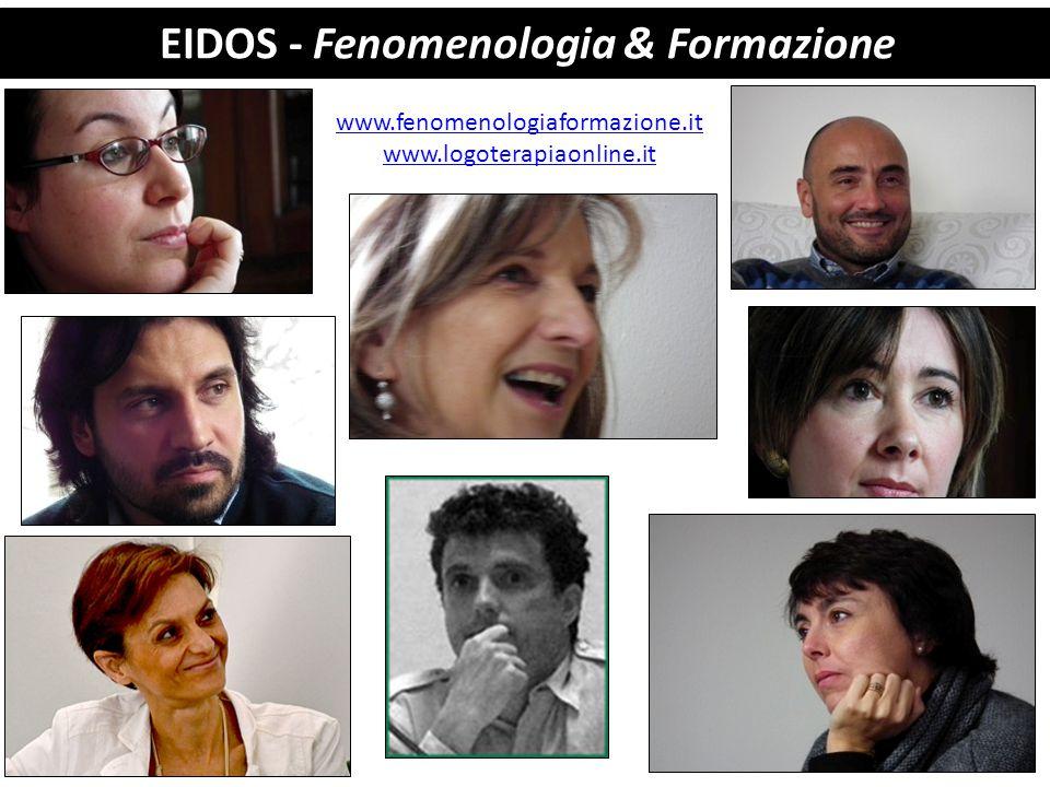 EIDOS - Fenomenologia & Formazione