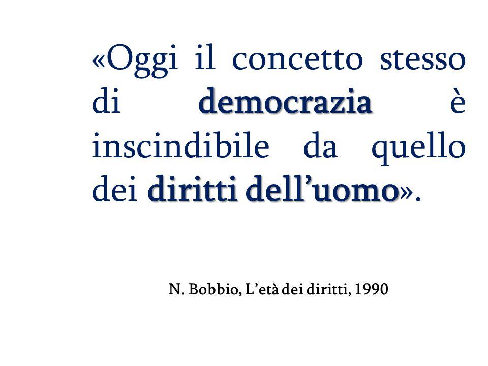N. Bobbio, L'età dei diritti, 1990