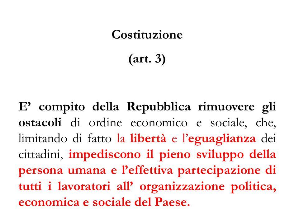 Costituzione (art. 3)