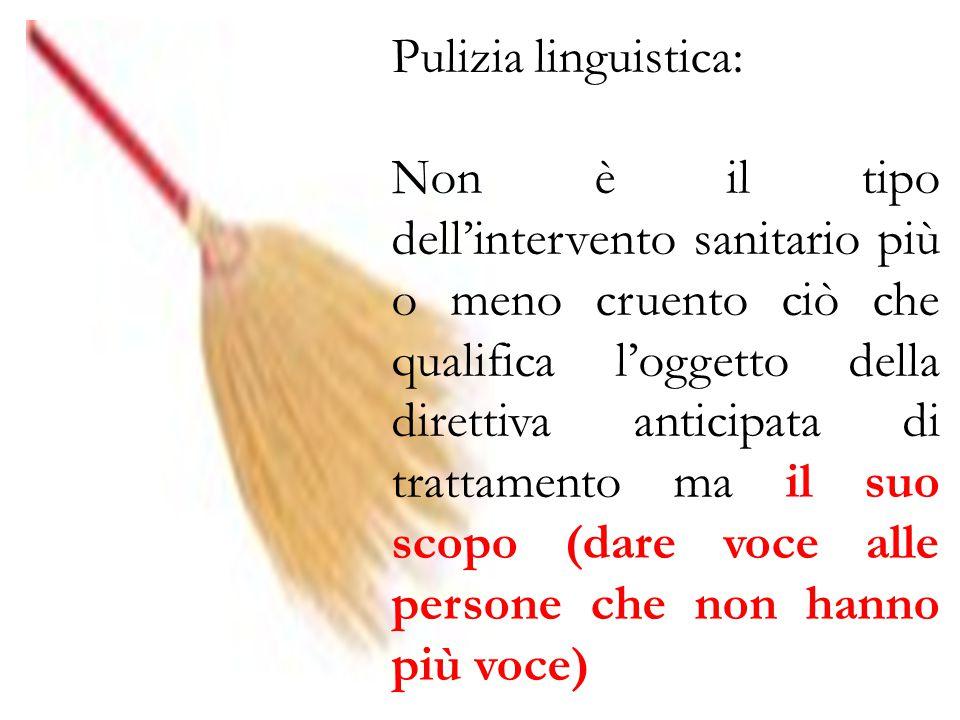 Pulizia linguistica: