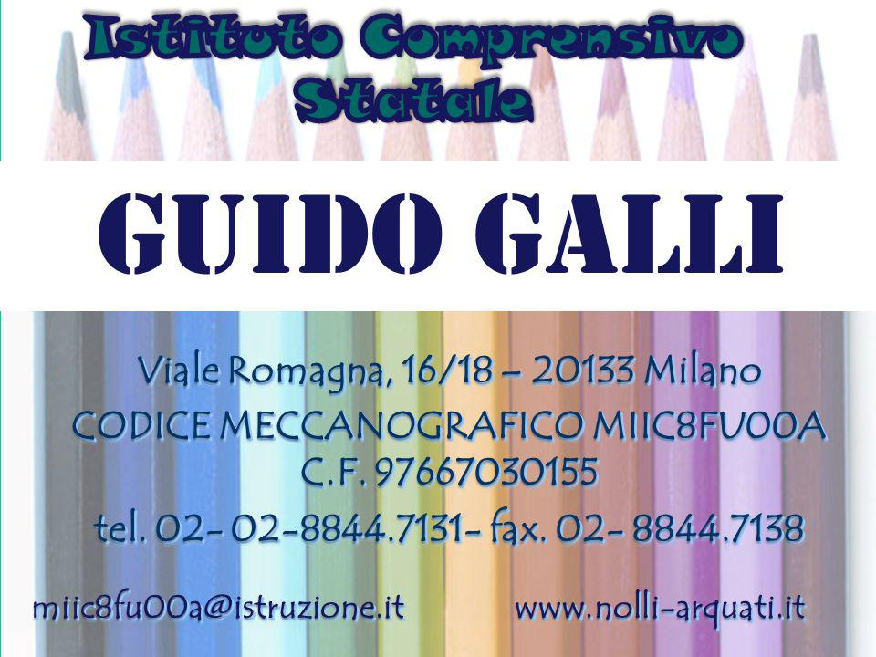GUIDO GALLI Istituto Comprensivo Statale è§gh +