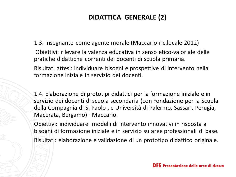 DIDATTICA GENERALE (2)