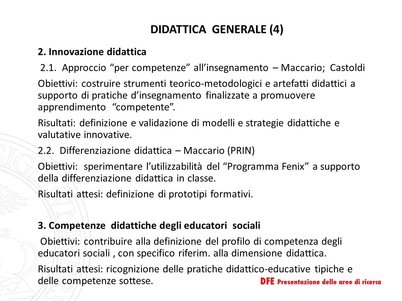 DIDATTICA GENERALE (4)