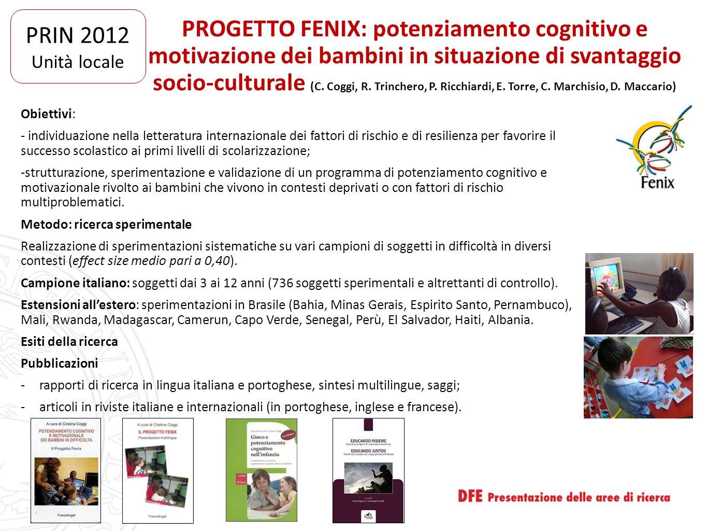 PRIN 2012 Unità locale.
