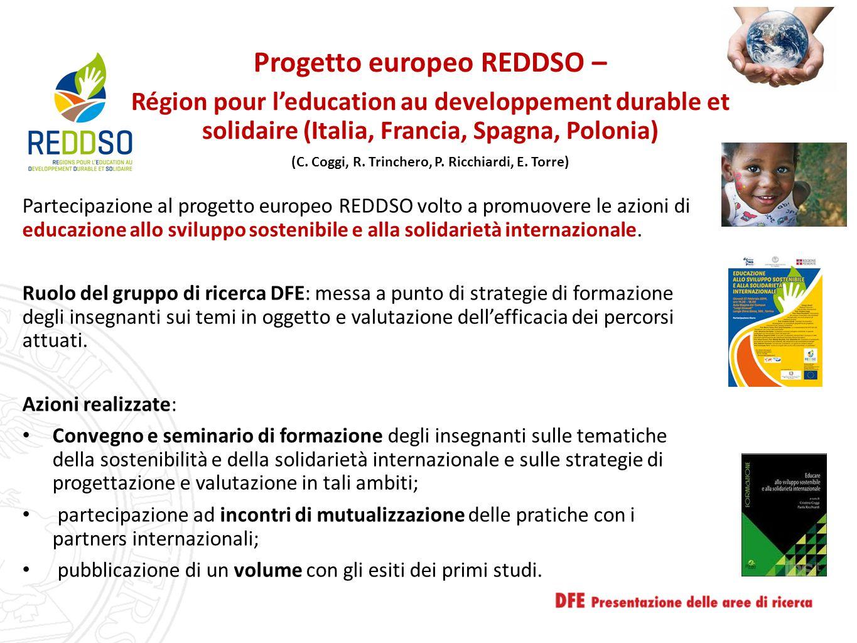Progetto europeo REDDSO –