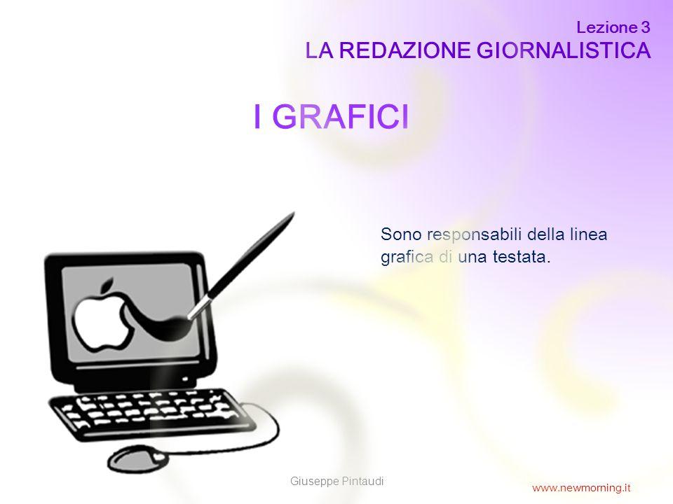 I GRAFICI LA REDAZIONE GIORNALISTICA