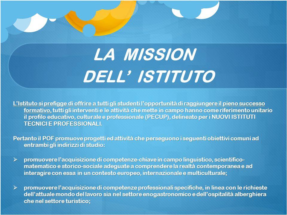 LA MISSION DELL' ISTITUTO