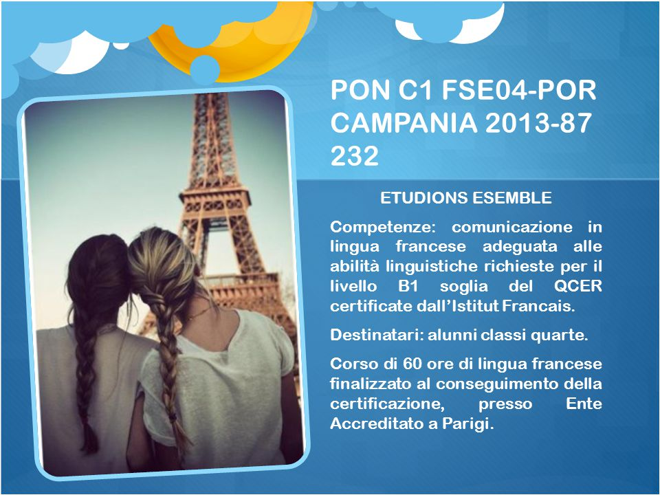 PON C1 FSE04-POR CAMPANIA 2013-87 232