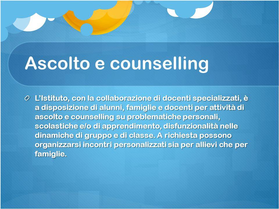 Ascolto e counselling