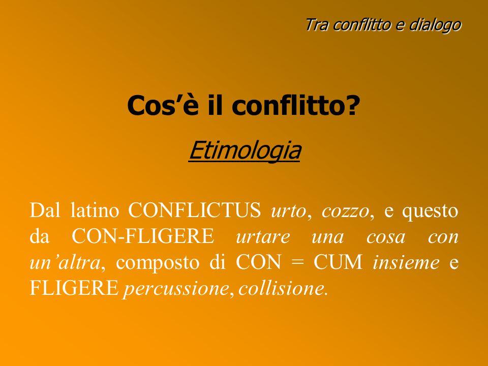 Tra conflitto e dialogo