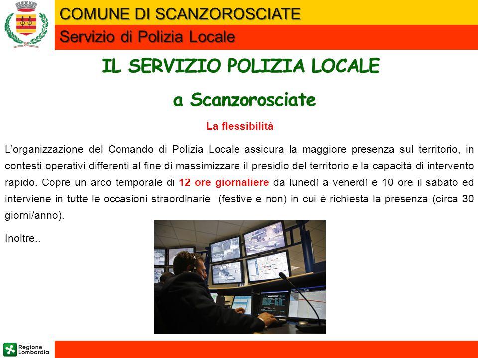 IL SERVIZIO POLIZIA LOCALE