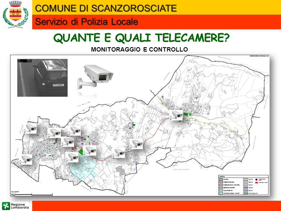 QUANTE E QUALI TELECAMERE MONITORAGGIO E CONTROLLO