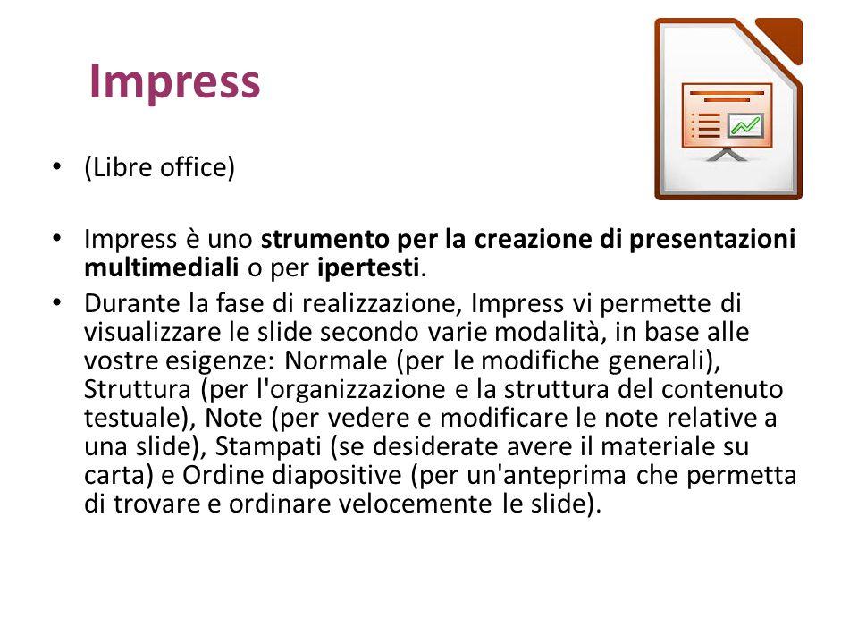 Impress (Libre office)
