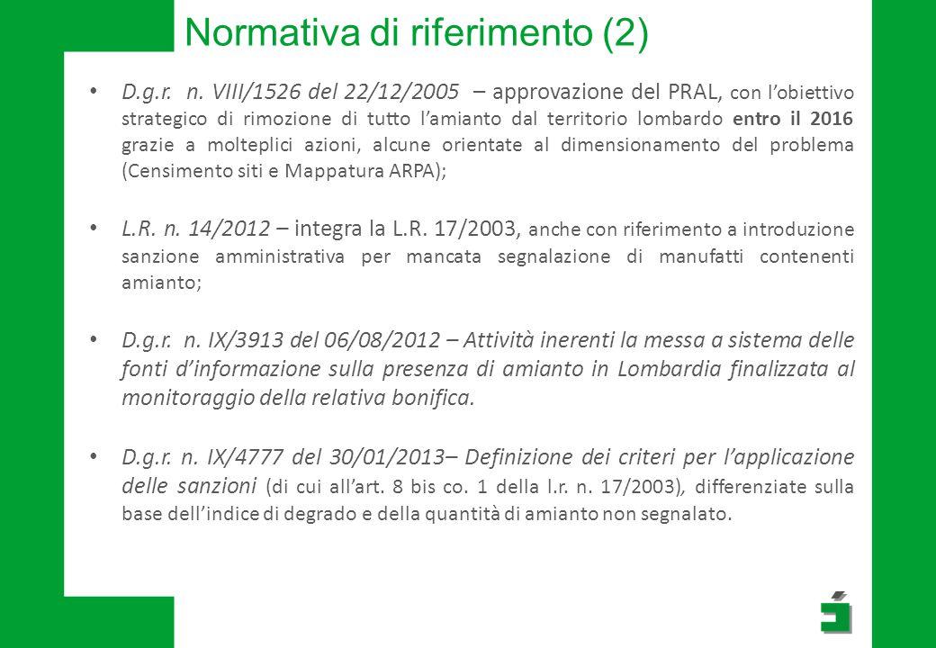 Normativa di riferimento (2)