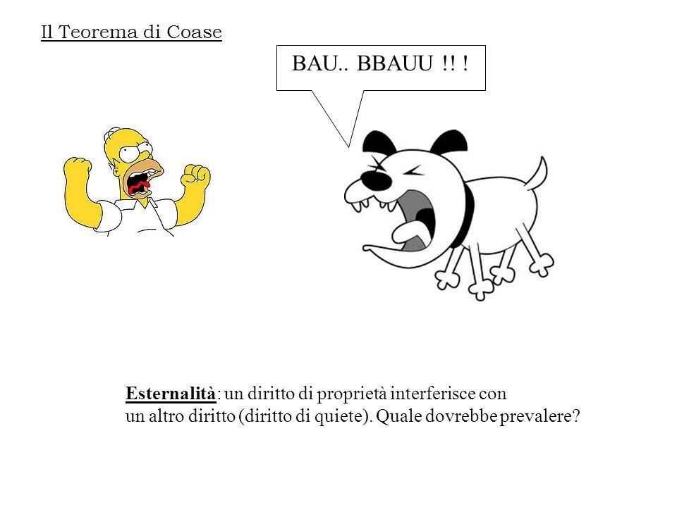 BAU.. BBAUU !! ! Il Teorema di Coase