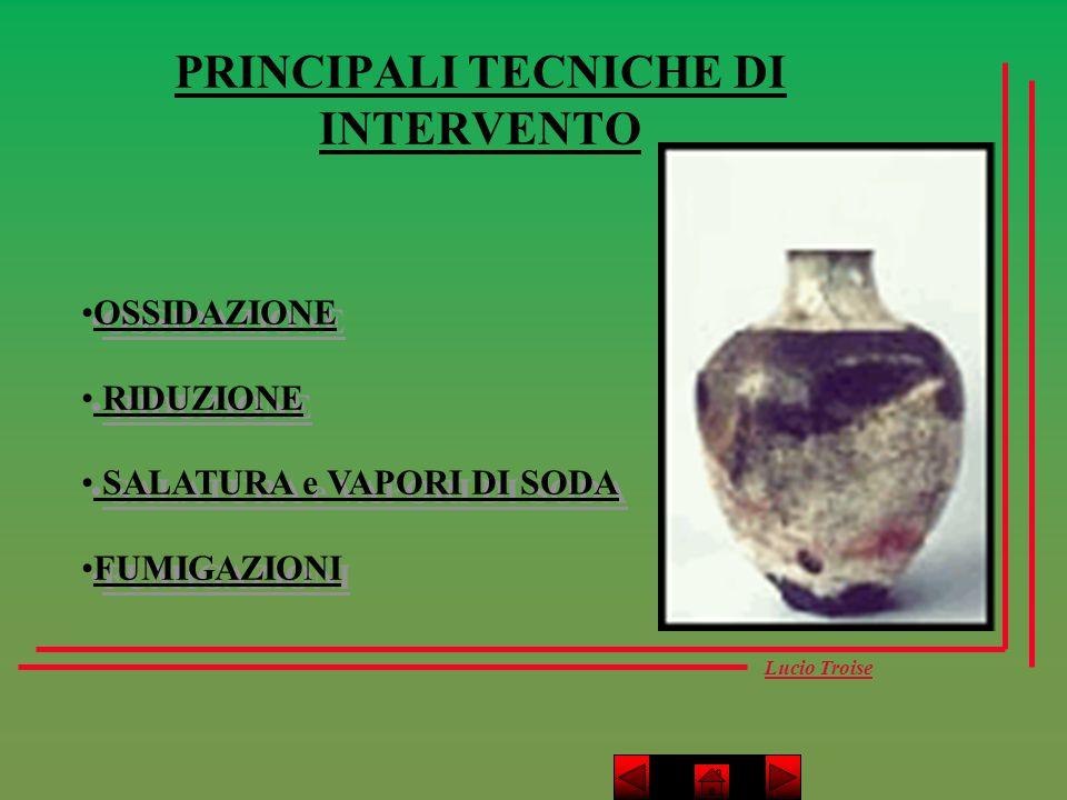 PRINCIPALI TECNICHE DI INTERVENTO