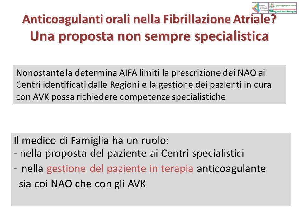Anticoagulanti orali nella Fibrillazione Atriale