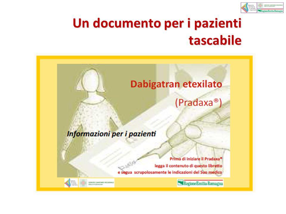 Un documento per i pazienti