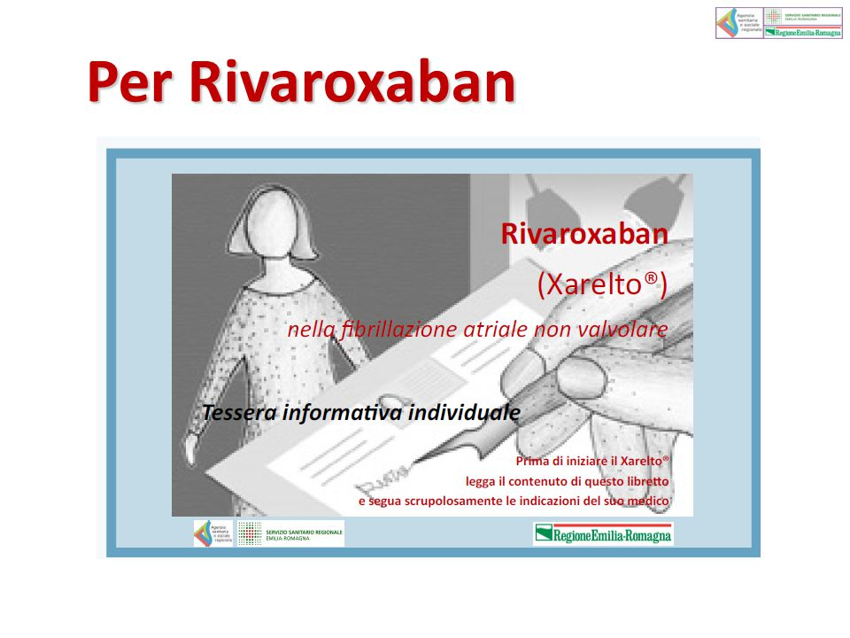 Per Rivaroxaban