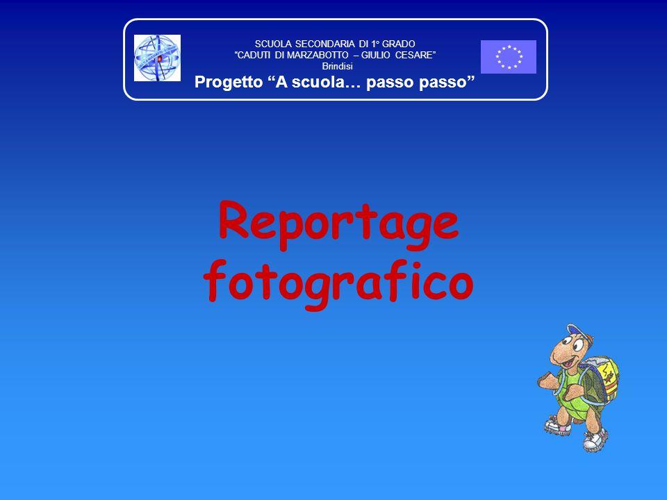 Progetto A scuola… passo passo Reportage fotografico