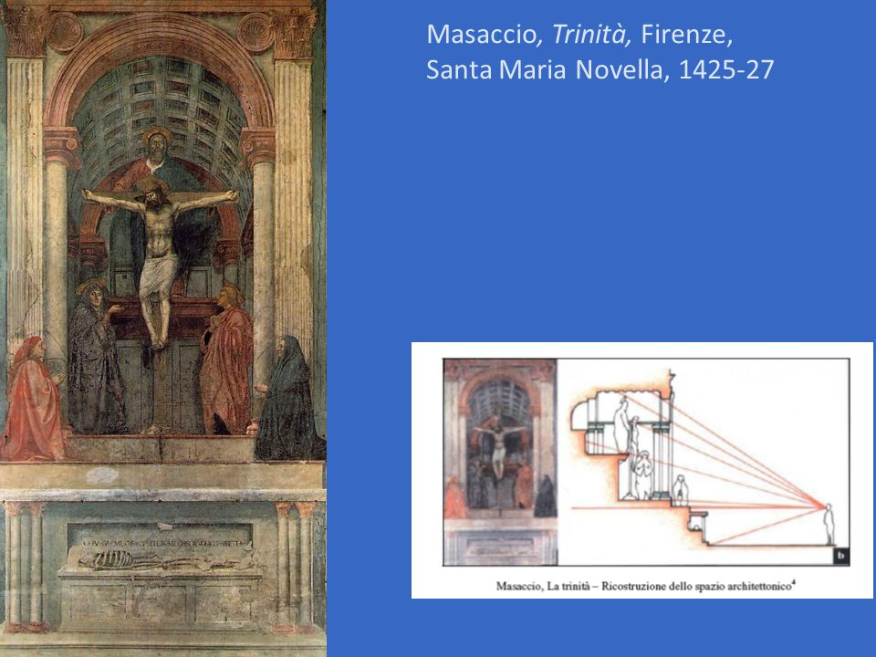 Masaccio, Trinità, Firenze,