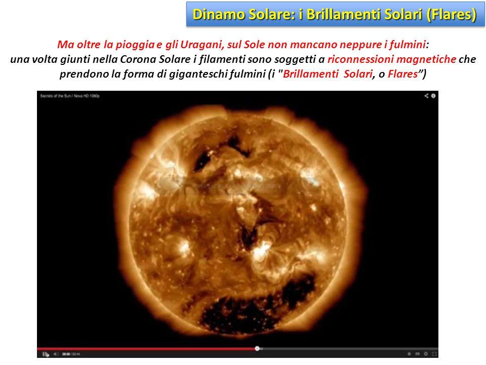 Dinamo Solare: i Brillamenti Solari (Flares)