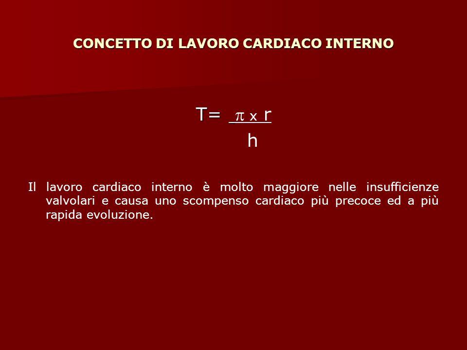 CONCETTO DI LAVORO CARDIACO INTERNO