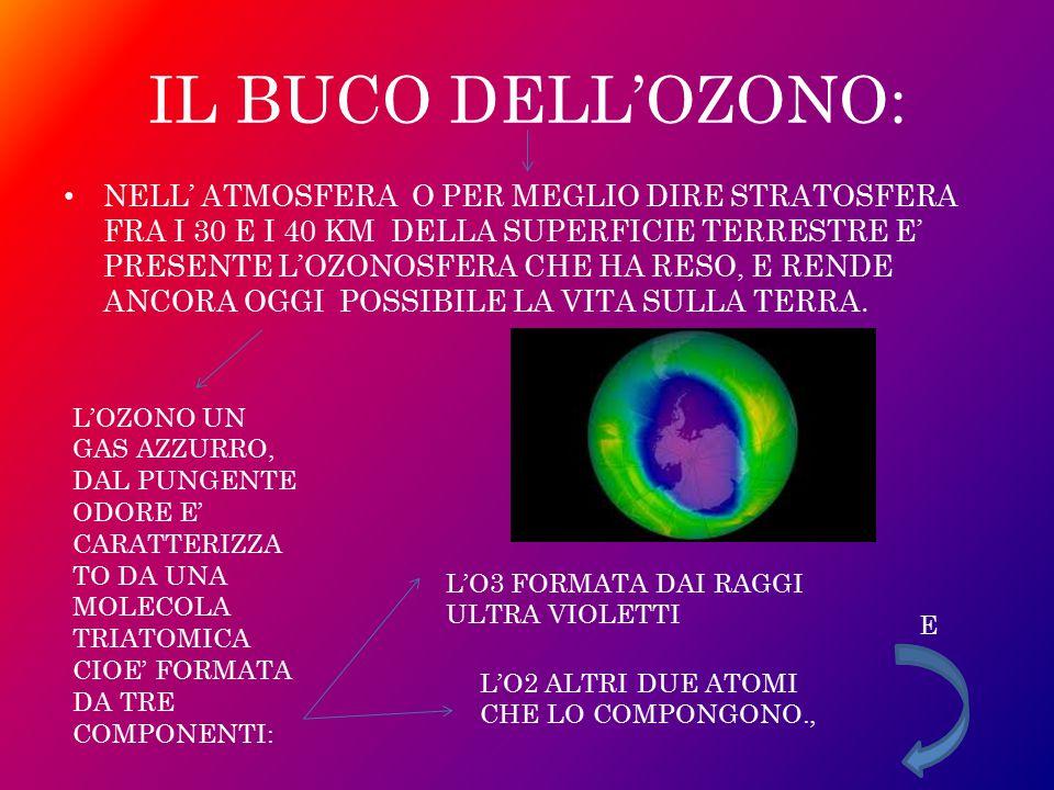 IL BUCO DELL'OZONO: