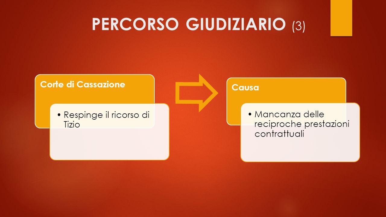 PERCORSO GIUDIZIARIO (3)