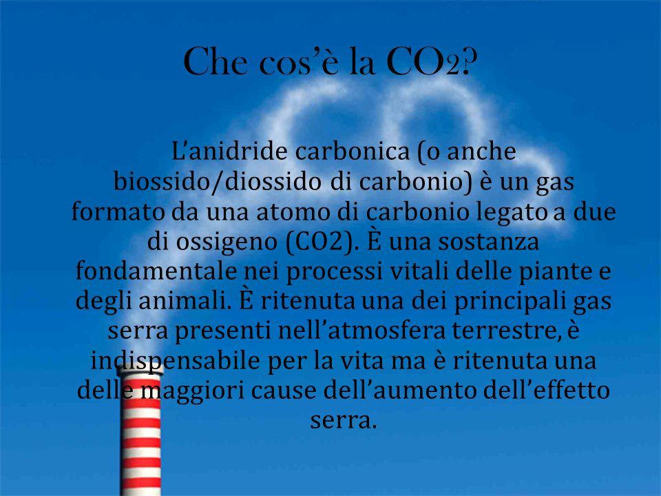 Che cos'è la CO2