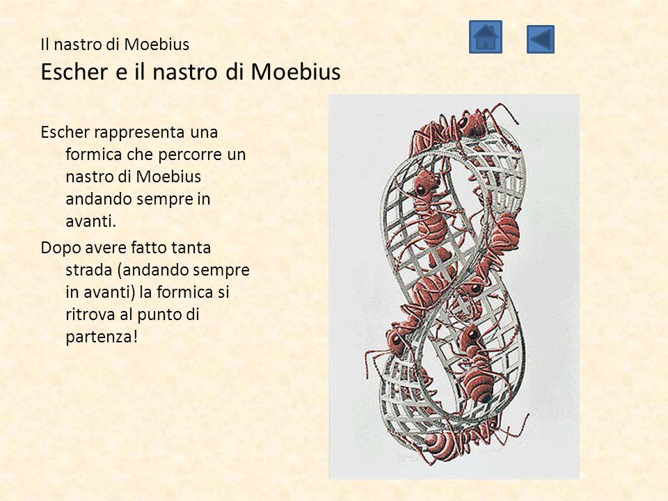 Il nastro di Moebius Escher e il nastro di Moebius