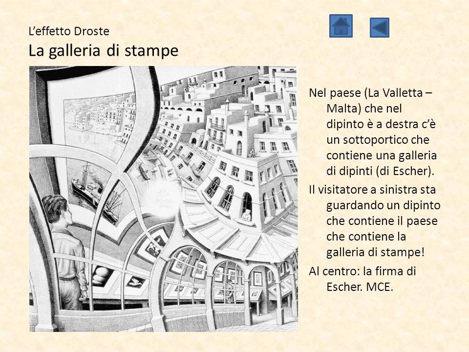 L'effetto Droste La galleria di stampe