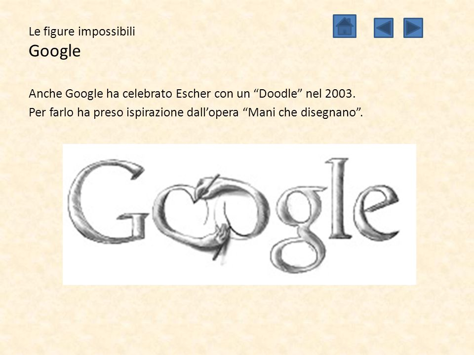 Le figure impossibili Google