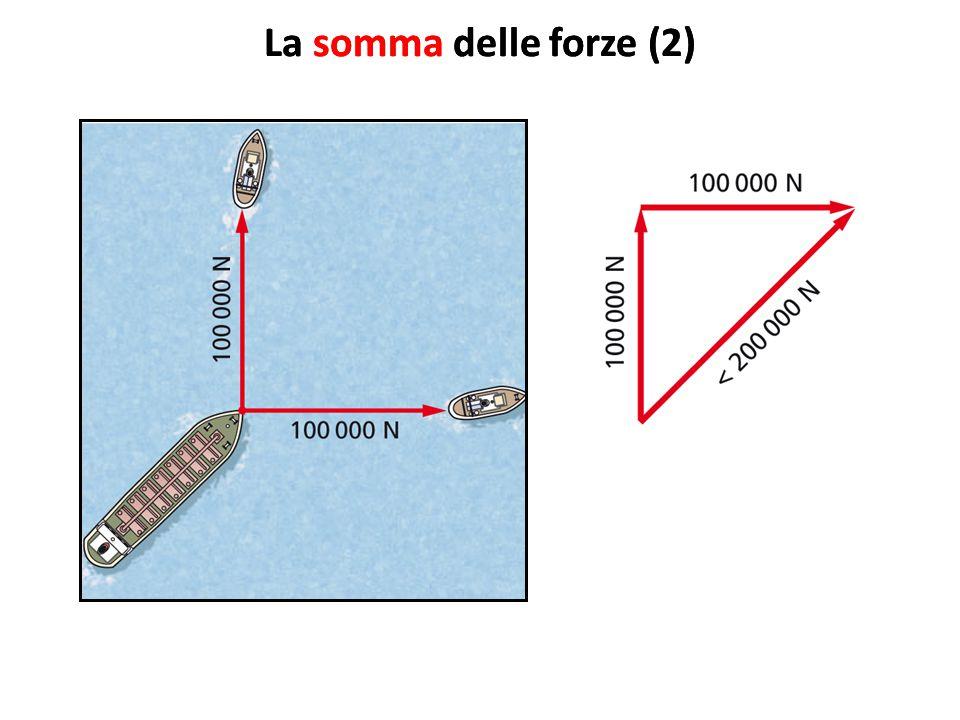 La somma delle forze (2) La somma delle forze (2)