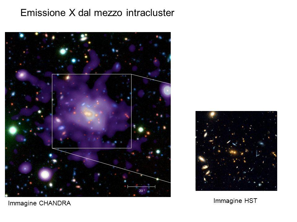 Emissione X dal mezzo intracluster